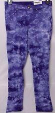 Hue Women's Tie Dye Denim Skimmer Leggings Purple Multi Color Size X-Small