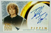 Lord of The Rings Return King LOTR ROTK Billy Boyd Pippin Autograph Signed Card