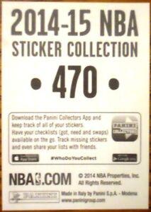 2014-15 Panini Stickers UNSTUCK Sticker USA - You Select Player #1