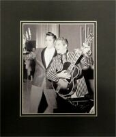 Elvis Presley Liberace Unsigned 8x10 Photo Matted to fit 11x14 Standing 1956