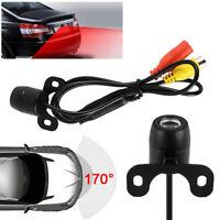 170° Reverse Car Rear View Backup Parking Camera IR Night Vision Kits + wiring