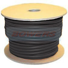 BLACK 10M METRE HI-FLEX PVC BATTERY/STARTER CABLE 40MM 300 AMP 539/0.3 STRANDING