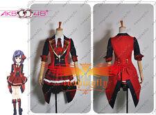 Anime AKB0048 Atsuko Maeda the 13th Dress Cosplay Costume Custom Size