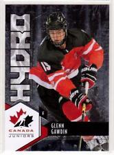 GLENN GAWDIN 15/16 Upper Deck Team Canada Juniors Hydro Rookie #H-17 Insert Card