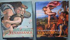 Les Grands Peintres italiens de la Renaissance, 2vol, EO Ullmann, 2008 -TBE Rare