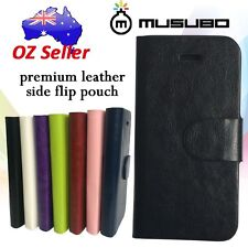 Genuine Musubo Leather cover case 4 card pouches for Apple iPhone 6 Plus 5.5""