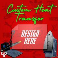 Custom/Personalized Heat Transfer Vinyl Iron On Design