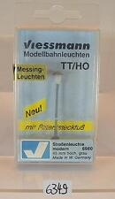 Viessmann H0/TT Nr.6980 Straßenleuchte modern grau 46mm hoch OVP #6349