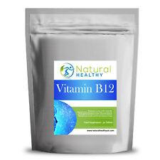 La vitamina B12 - 1 mes de suministro 30 Pastillas-natural y saludable dieta suplemento de Reino Unido