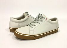 UGG BROCK LUXE SNEAKERS WHITE LEATHER -MEN'S US 9 -NEW