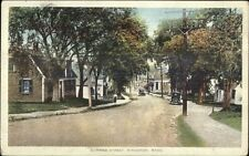 Kinsgston MA Summer Street c1910 Postcard USED