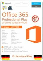 MS Office 365 Pro Plus 2019 PC /Mac/5TB OneDrive/5 Devices Lifetime subscription