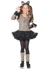 LITTLE LEOPARD CHILD HALLOWEEN COSTUME GIRL'S SIZE LARGE 10-12