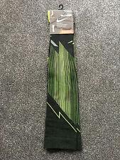 Nike Elite Compression Running Socks Black Mens Womens OTC Over Calf UK13-15 NEW