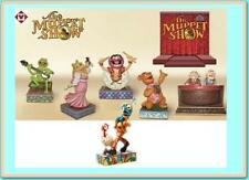 Jim Shore The Muppet Show complete set of 6 + Displayer Stand Disney Traditions