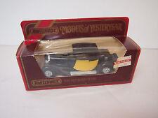 Matchbox Yesteryear car Y24 1927 Bugatti T-44 in orig box