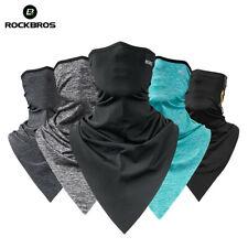ROCKBROS Summer Sports Ice Silk Triangle Scarves Neck Warmer Headband 3 Colors