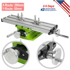 New listing Aluminium Alloy Milling Machine Cross Sliding Table Vise For Lathe Bench Drill