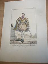LOUIS DE BERTON SEIGNEUR DE CRILLON REGNE DE HENRY IV