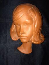 GOLDSCHEIDER PRISCHL 2668 1950's Style Terracotta Wall Face Mask