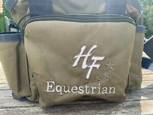 Pferde Putztasche Equestrain von Loesdau - Farbe beige - gebraucht