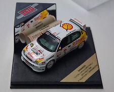 1/43ème  TOYOTA  COROLLA  WRC SHELL N° 1 DEFA RALLY 1998 - SKID réf  SKM99020