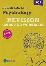 REVISE AQA AS level Psychology Revision Guide and Workbook by Susan Harty, Anna Cave, Sarah Middleton (Mixed media product, 2016)