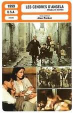 FICHE CINEMA : LES CENDRES D'ANGELA - Watson,Carlyle,Parker 1999 Angela's Ashes