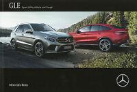 0413MB Mercedes GLE SUV Coupe Prospekt 2015 19.8.15 AMG 63 S 500 450 350 d