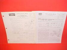 1959 LINCOLN CONTINENTAL MARK IV UNITED MOTORS DELCO AUTRONIC-EYE SERVICE MANUAL