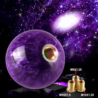 Purple Universal Manual Gear Stick Shifter 5 Speed Car Shift Knob Trucks HL