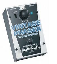Behringer VP1 Vintage Phaser Pedal de Efectos/caja stomp