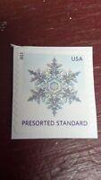 Stamp, USA, PRESORTED STANDARD, SNOW FLAKE, 2013