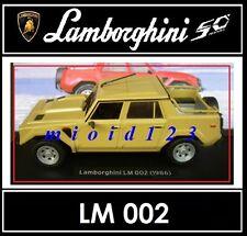 1/43 -  Lamborghini Collection 50° : LM 002 [ 1986 ] - Die-cast