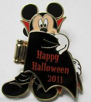 Disney Cast Exclusive Mickey Mouse in Vampire Costume Halloween Pin