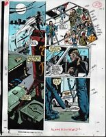 Original Moon Knight 22 page 23 Marvel Comics color guide art: MORE IN OUR STORE