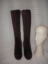 ANN TAYLOR LOFT LEATHER SUEDE TALL BOOTS WOMEN SIZE 7M