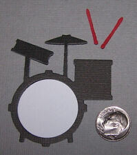 2 Drum Sets Premade PAPER Die Cuts / Scrapbook & Card Making