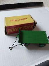 Dinky 429 Trailer Green In Original Box