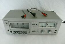 New ListingVintage Toshiba Pc-X10M Single Deck Cassette Player-Works