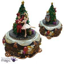 Gisela Graham The Nutcracker Story Revolving Music Box Christmas Decoration Gift