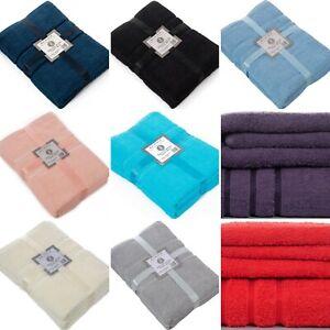 Luxurious 2 OR 4 Pieces 100% Cotton Jumbo Towel Bale Bath Sheets Bathroom Set