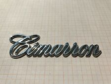 Cadillac Cimarron Schriftzug Kofferraum Kotflügel Emblem Script Trunk Ornament