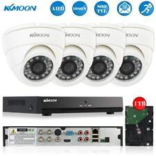 4CH AHD 1080N DVR 4pcs 800TVL CCTV Home Security Camera System with 1TB HDD US