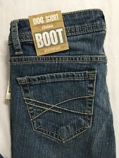 Aeropostale Size 000 Short Chelsea Jean Bootcut Low Rise Slim Fit Distressed NWT