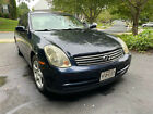 2004 Infiniti G35  NO ACCIDENTS - CARFAX Available - Nice Shine - Very clean - Loaded with options