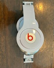 Beats by Dr. Dre Solo HD Monster Headband Headphones (White/Red) with case