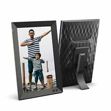 NIX 10.1 Inch USB Digital Picture Frame - Portrait or Landscape Stand, HD