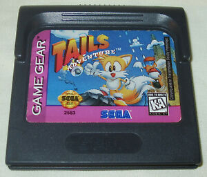Tails Adventure Sega Game Gear 1995 Authentic Works Great Very Rare Tested