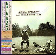 GEORGE HARRISON ALL THINGS MUST PASS 2 CD MINI LP OBI + bonus tracks Beatles new
